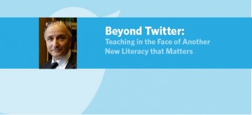 Beyond Twitter: Teaching in the Face of Another New Literacy that Matters