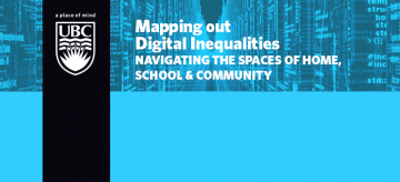 Mapping out digital inequalities: Navigating the spaces of home, school & community