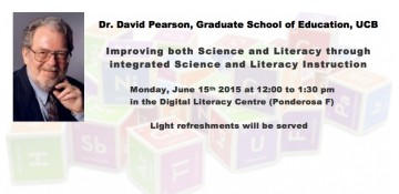 Improving both Science and Literacy through integrated Science & Literacy Instruction