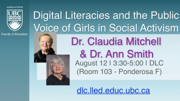 DLC Talks: Digital Literacies and the Public Voice of Girls in Social Activism