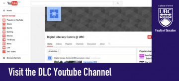 Visit the DLC YouTube Channel