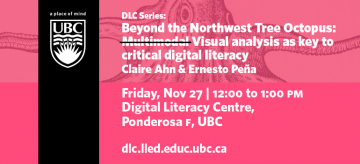 DLC Series: Beyond the Northwest Tree Octopus: Multimodal Visual analysis as key to critical digital literacy